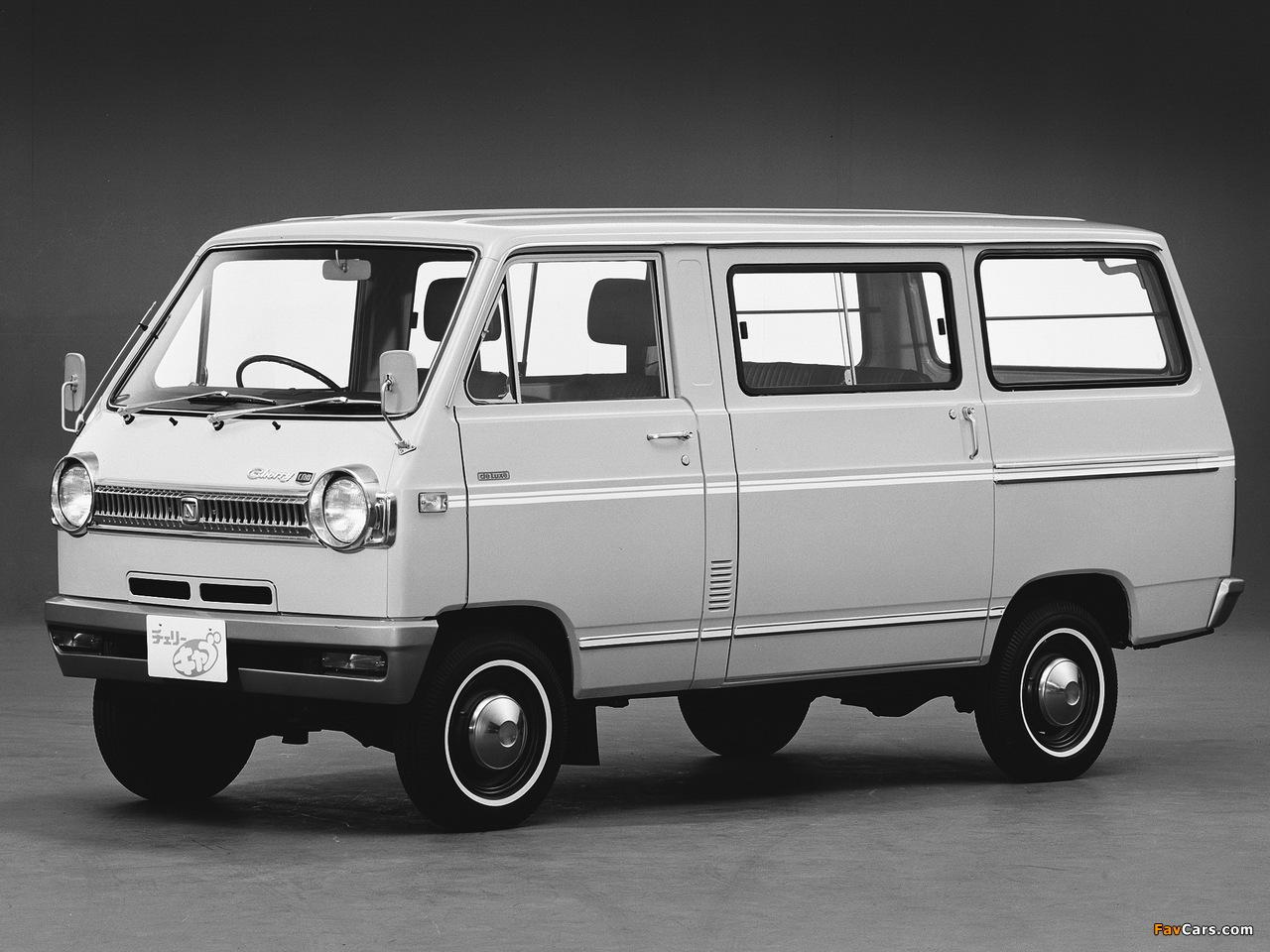 Nissan Cherry Cab Van (C20) 1970–78 pictures (1280 x 960)