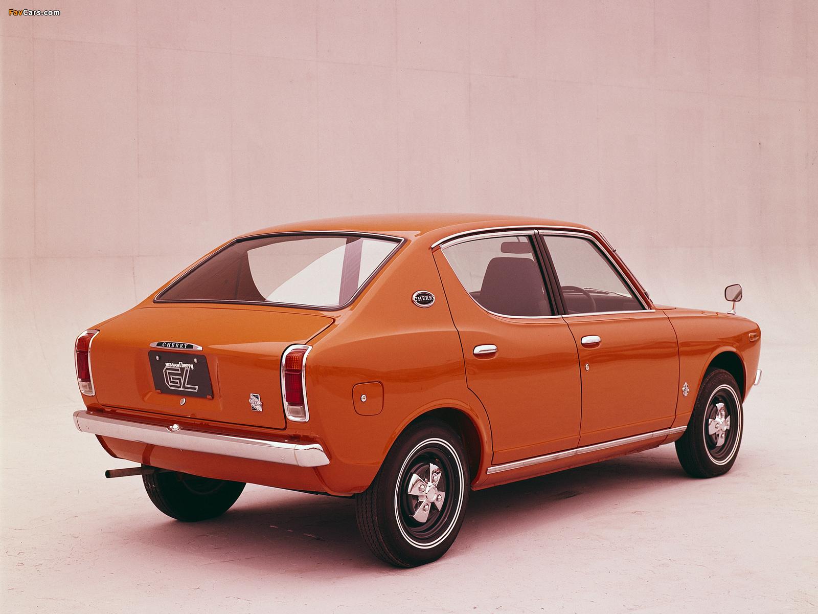 Datsun Cherry 4-door Sedan (E10) 1970–74 pictures (1600 x 1200)