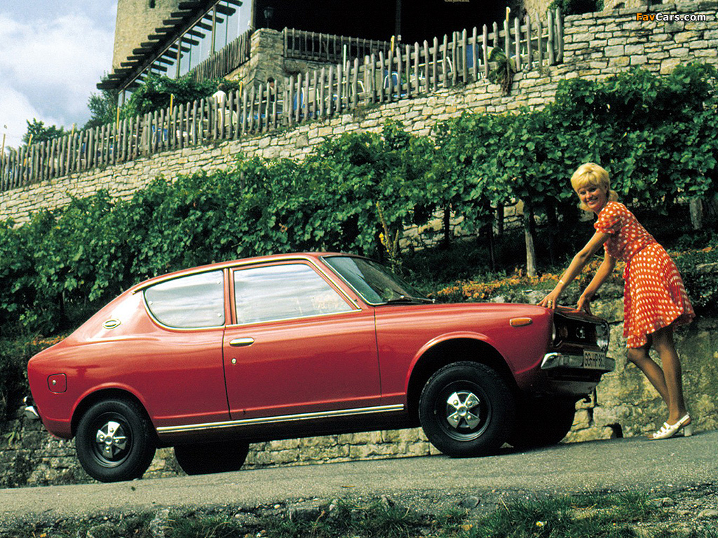 Datsun Cherry 2-door Sedan (E10) 1970–74 wallpapers (1024 x 768)