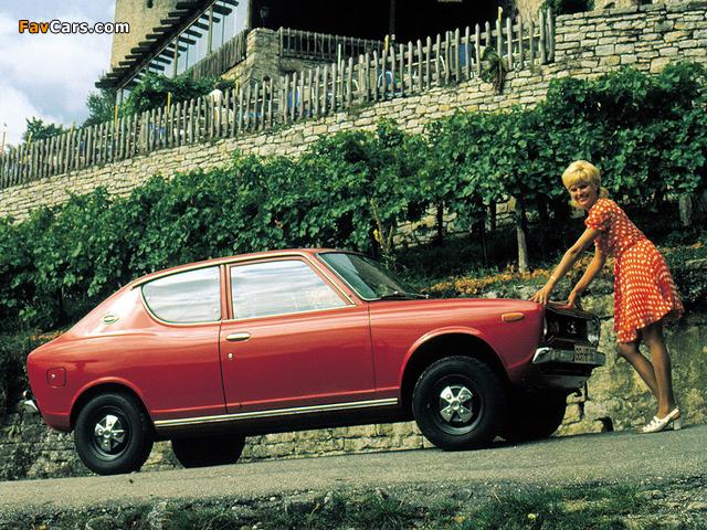 Datsun Cherry 2-door Sedan (E10) 1970–74 wallpapers (640 x 480)