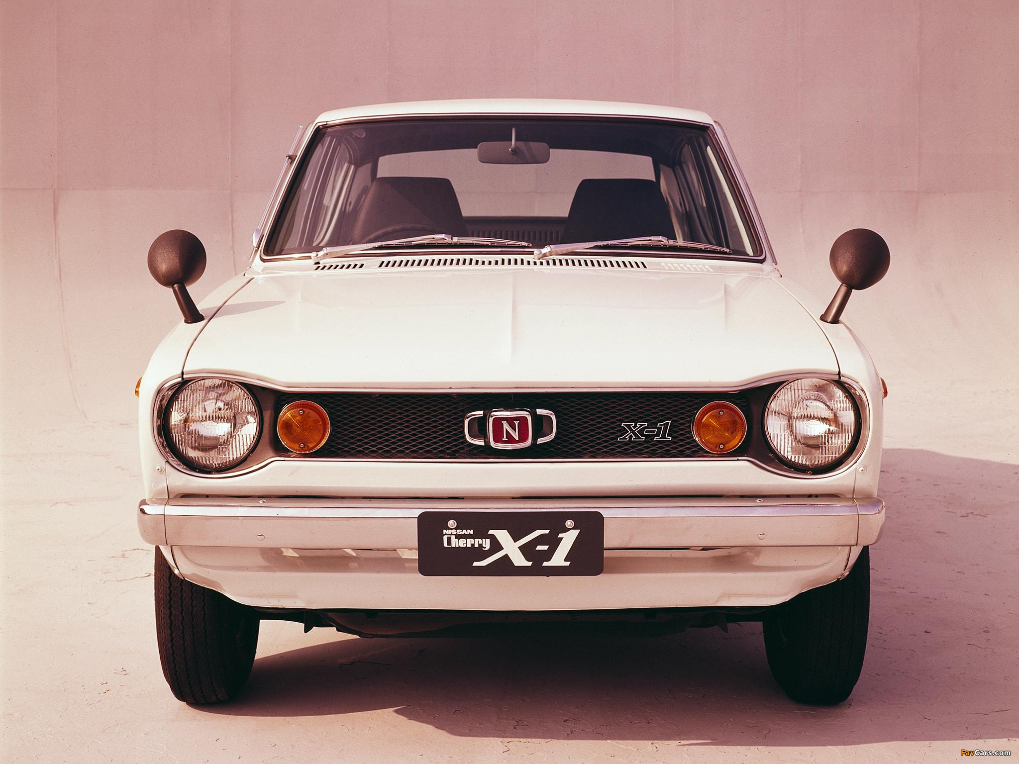 Nissan Cherry X-1 4-door Sedan (E10) 1970–74 wallpapers (2048 x 1536)
