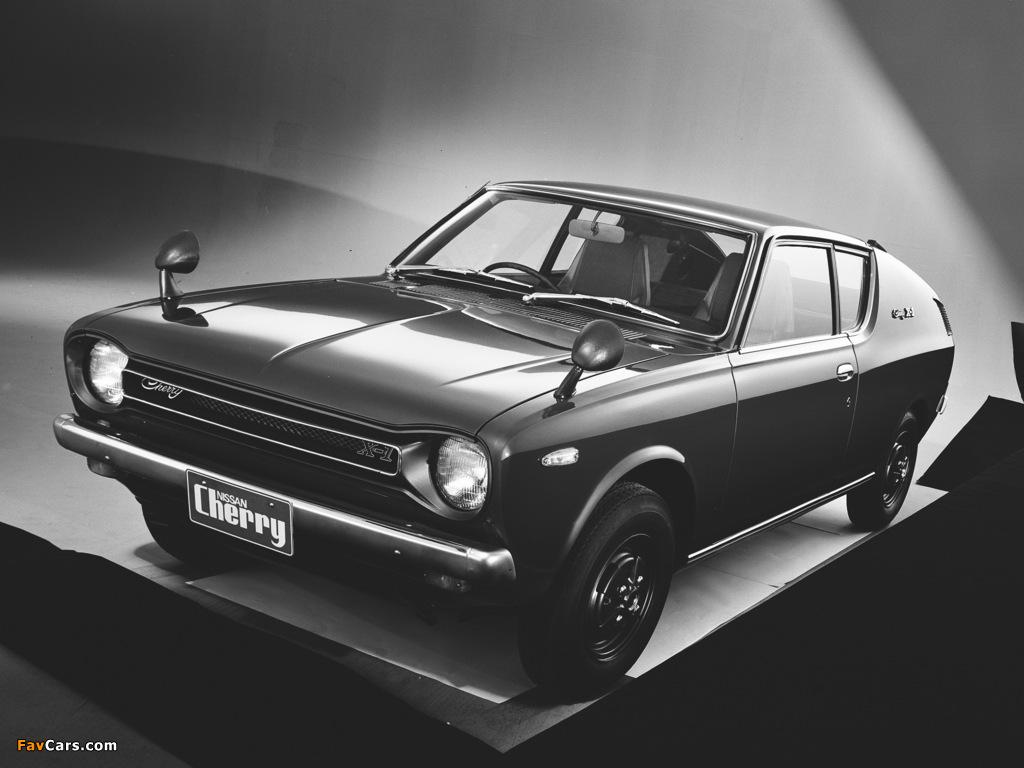 Datsun Cherry Coupe (E10) 1971–74 photos (1024 x 768)