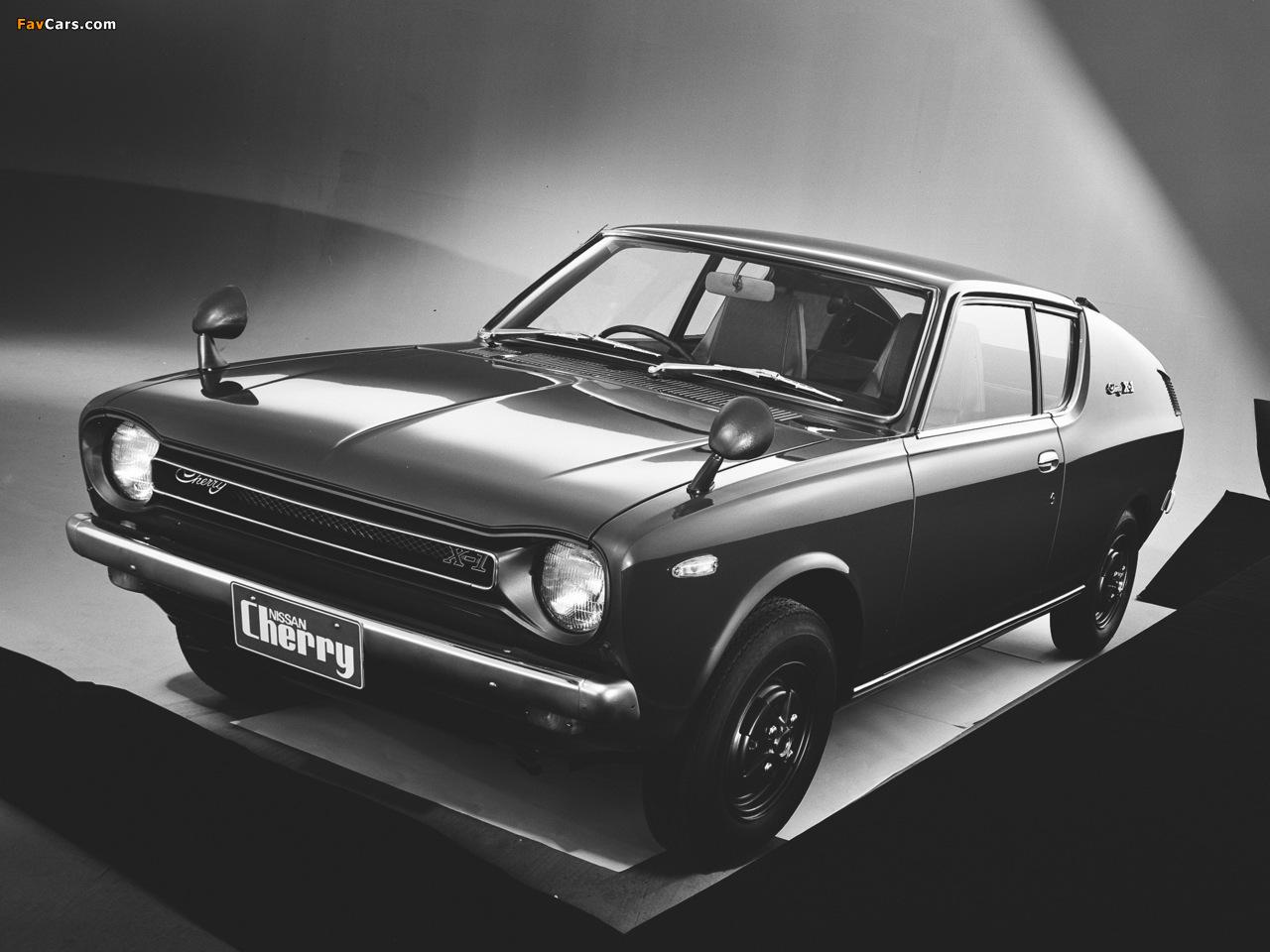 Datsun Cherry Coupe (E10) 1971–74 photos (1280 x 960)
