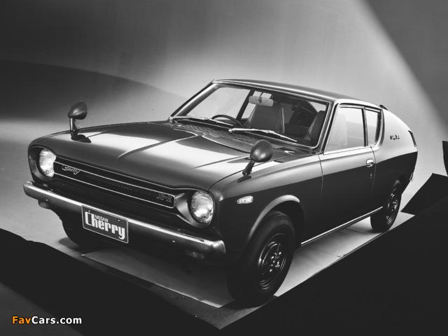 Datsun Cherry Coupe (E10) 1971–74 photos (640 x 480)