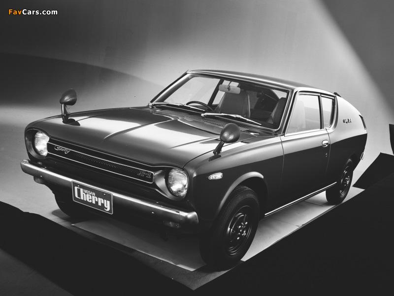 Datsun Cherry Coupe (E10) 1971–74 photos (800 x 600)