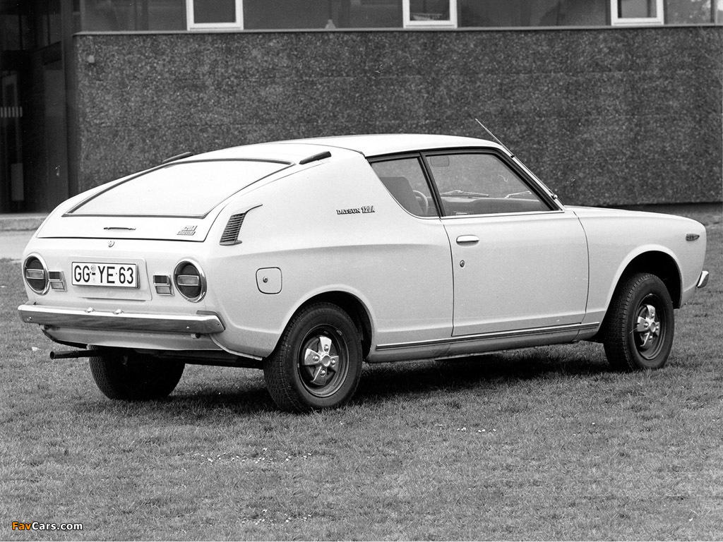 Datsun Cherry Coupe (E10) 1971–74 wallpapers (1024 x 768)