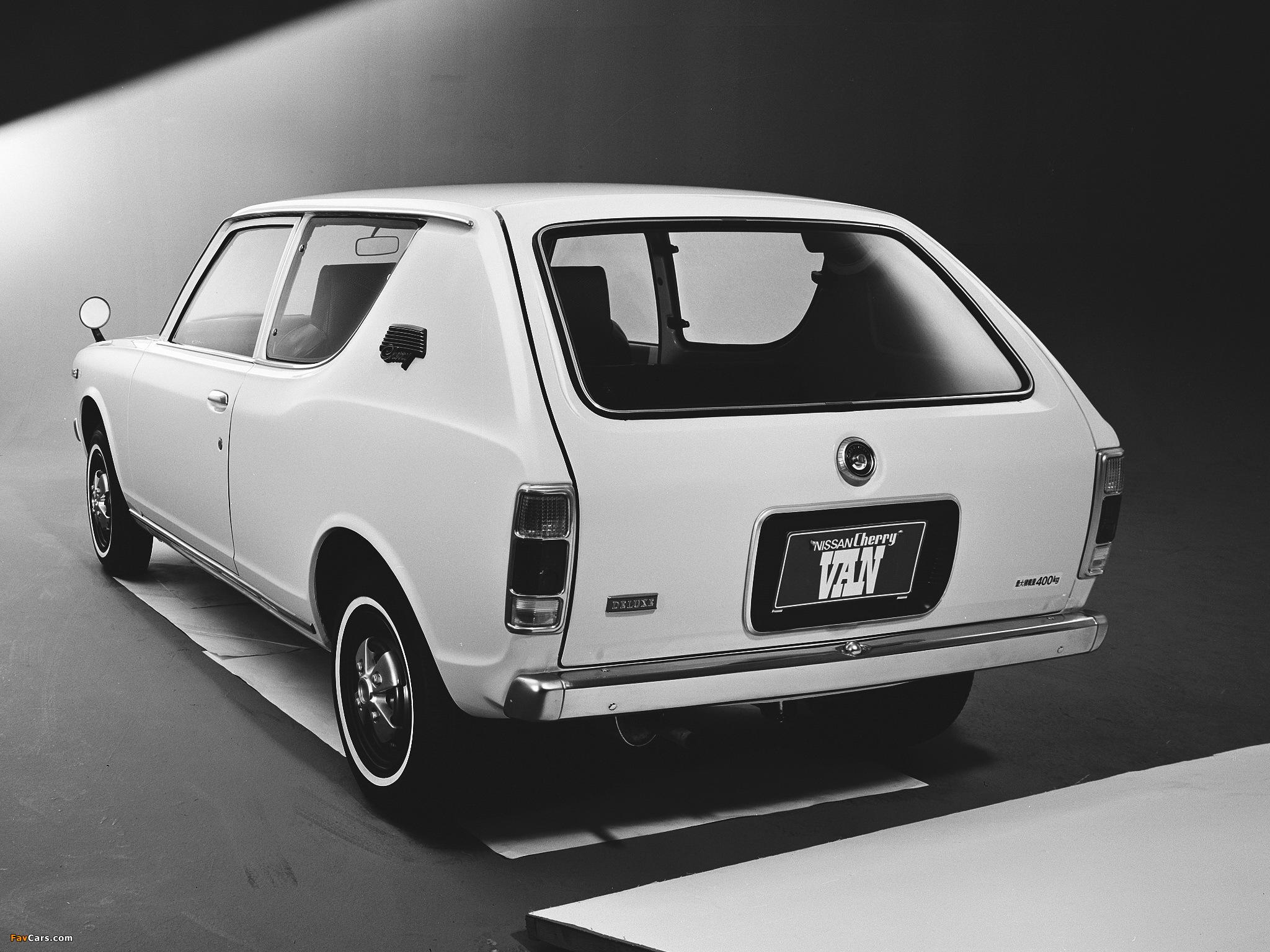 Datsun Cherry Van (E10) 1972–74 images (2048 x 1536)
