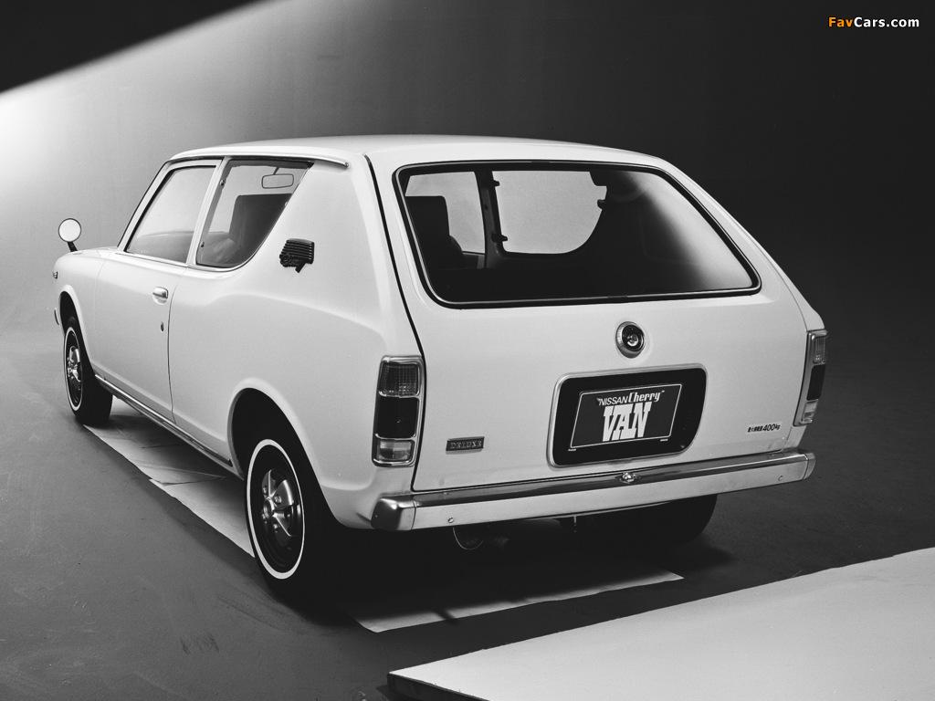 Datsun Cherry Van (E10) 1972–74 images (1024 x 768)