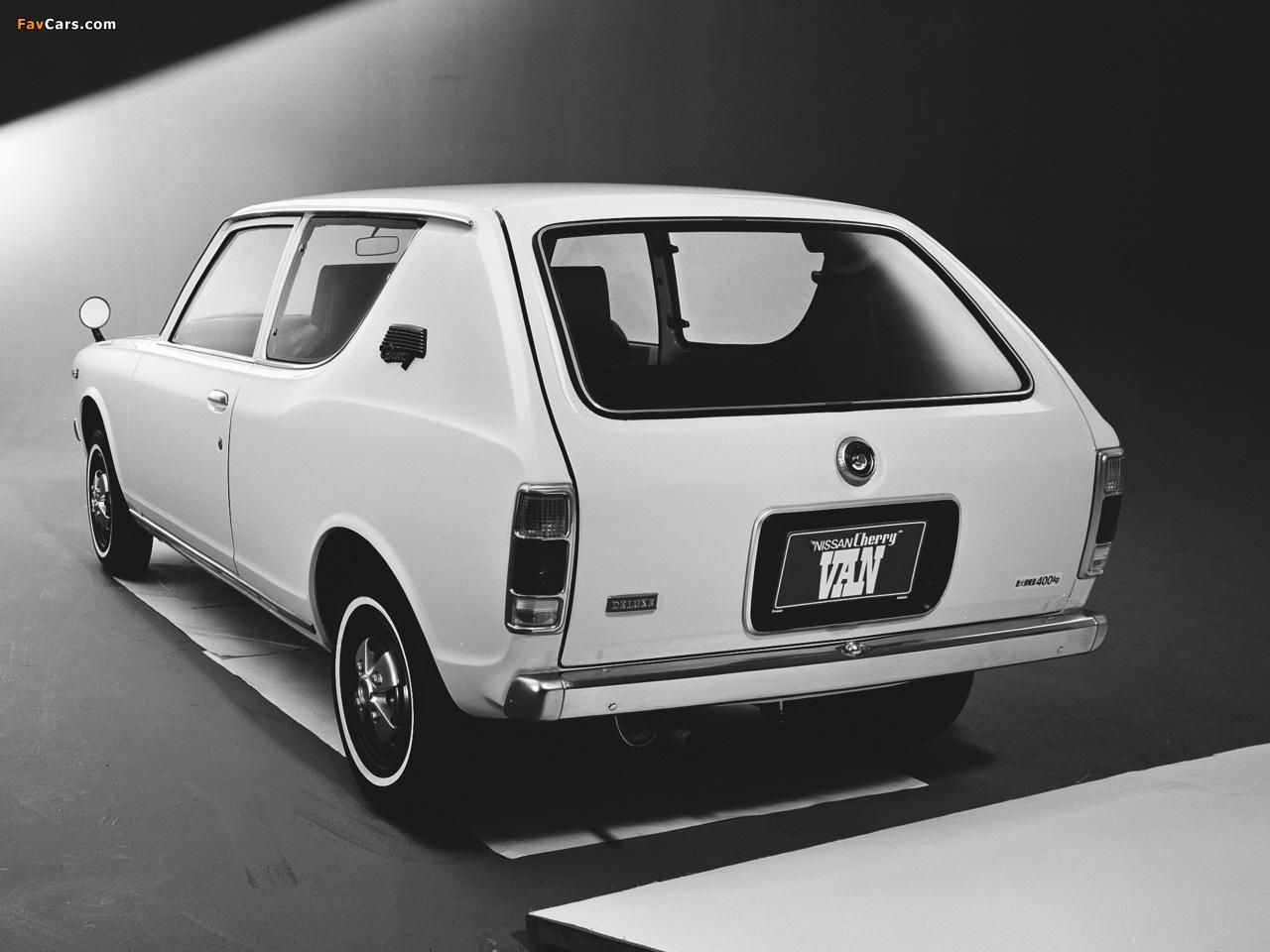 Datsun Cherry Van (E10) 1972–74 images (1280 x 960)