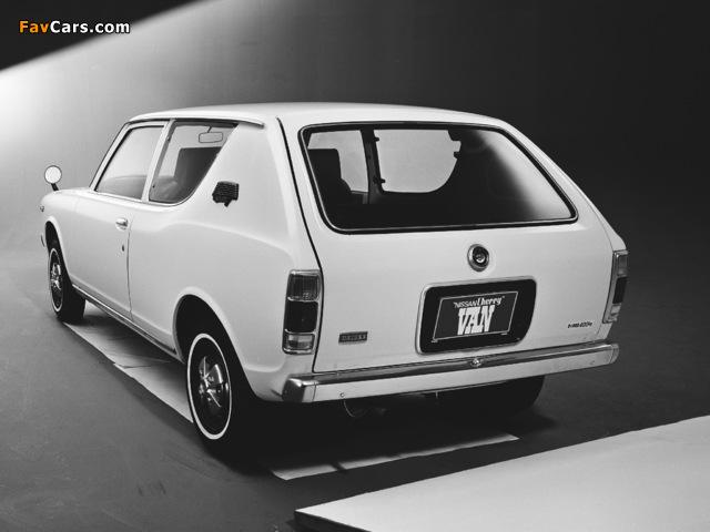 Datsun Cherry Van (E10) 1972–74 images (640 x 480)