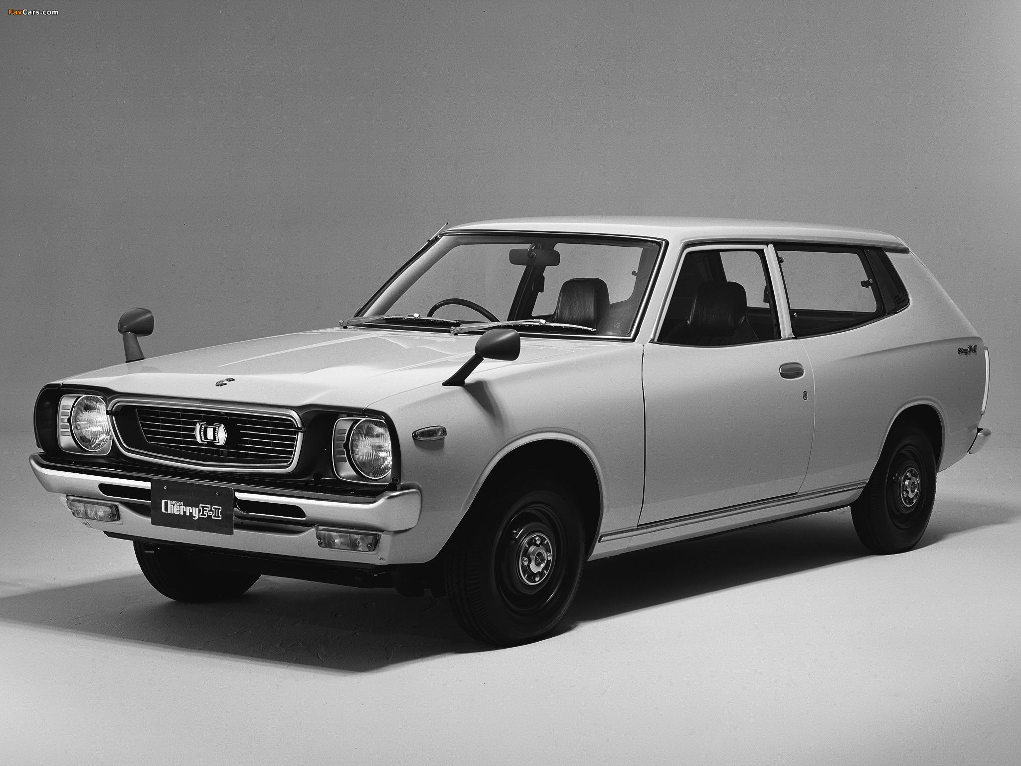 Nissan Cherry F-II Van (F10) 1974–78 wallpapers (2048 x 1536)