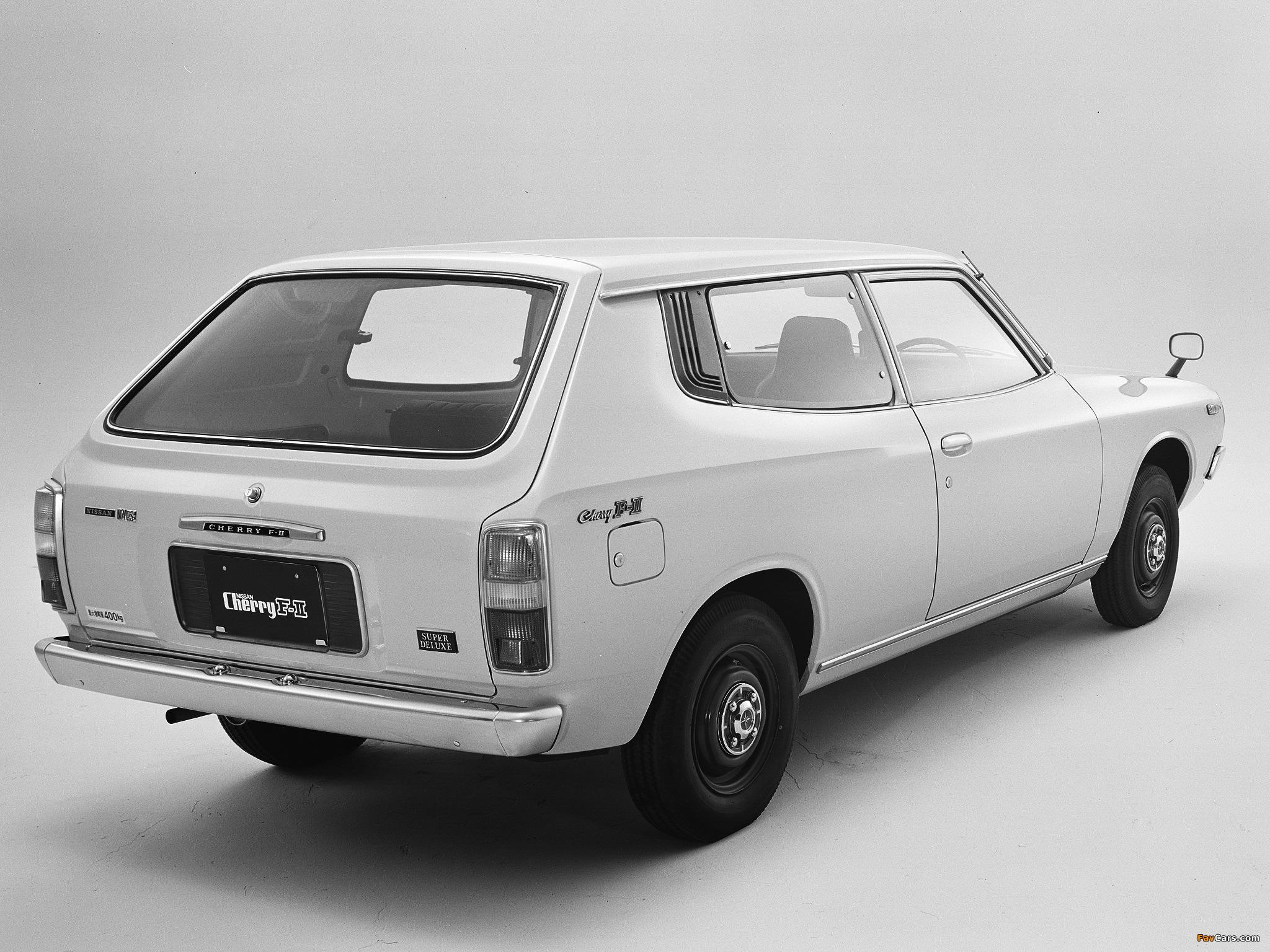 Photos of Nissan Cherry F-II Van (F10) 1974–78 (2048 x 1536)
