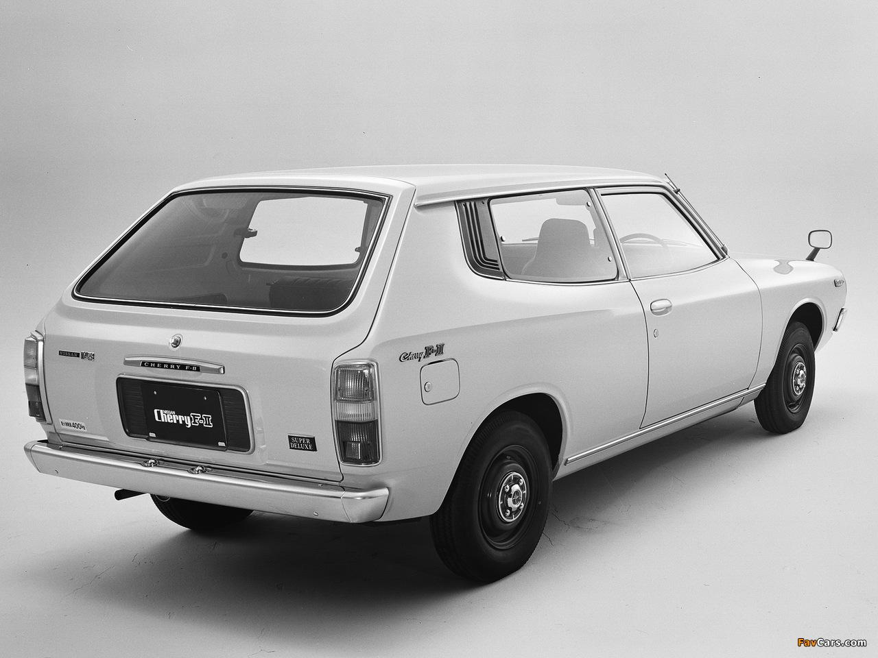 Photos of Nissan Cherry F-II Van (F10) 1974–78 (1280 x 960)