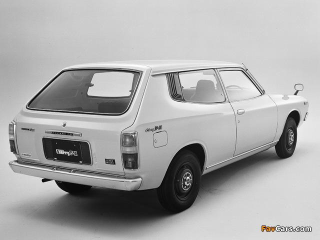 Photos of Nissan Cherry F-II Van (F10) 1974–78 (640 x 480)