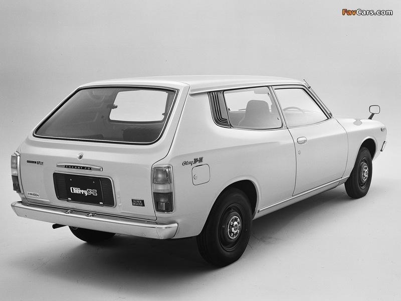 Photos of Nissan Cherry F-II Van (F10) 1974–78 (800 x 600)
