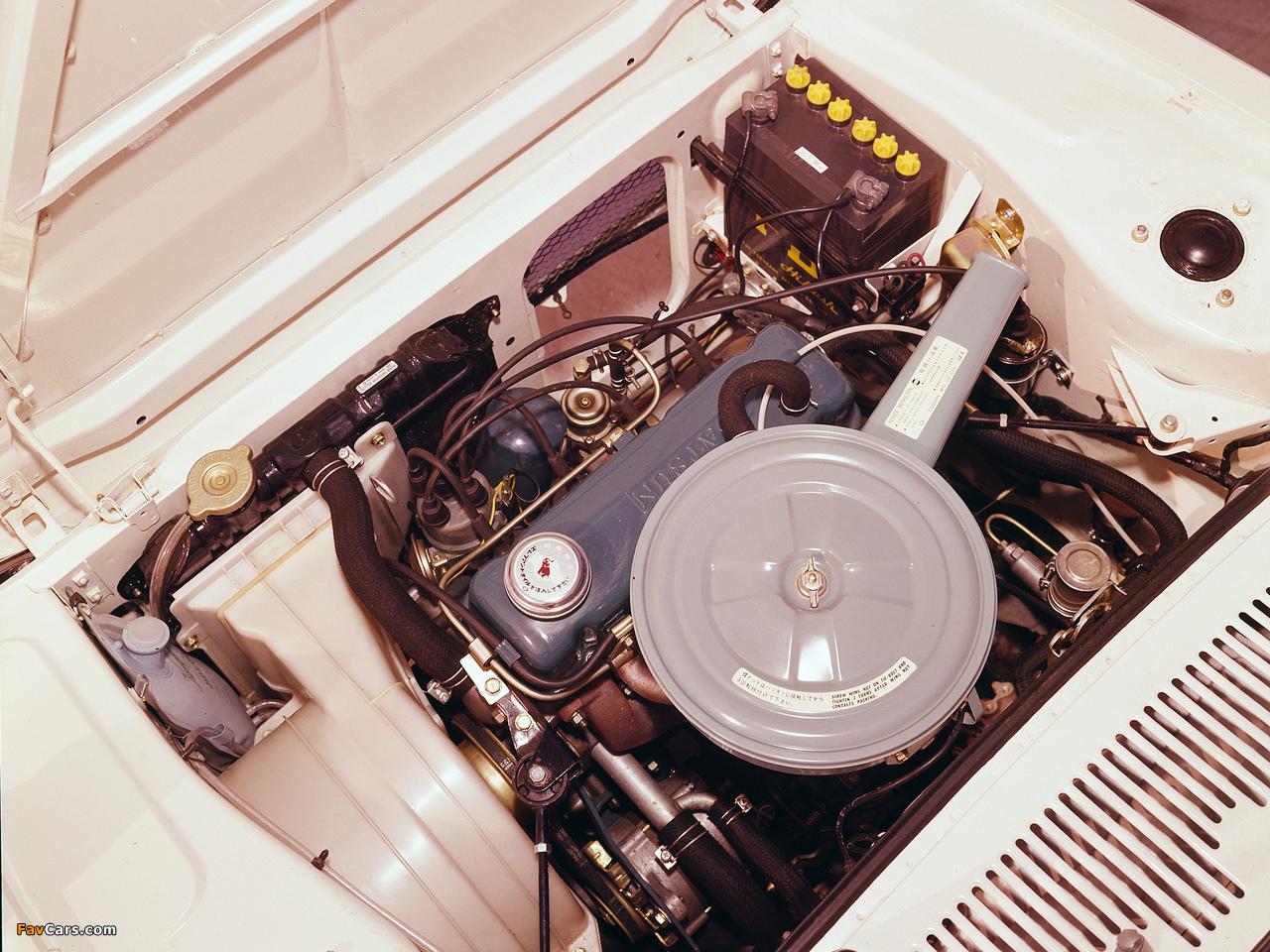Pictures of Nissan Cherry 4-door Sedan (E10) 1970–74 (1280 x 960)