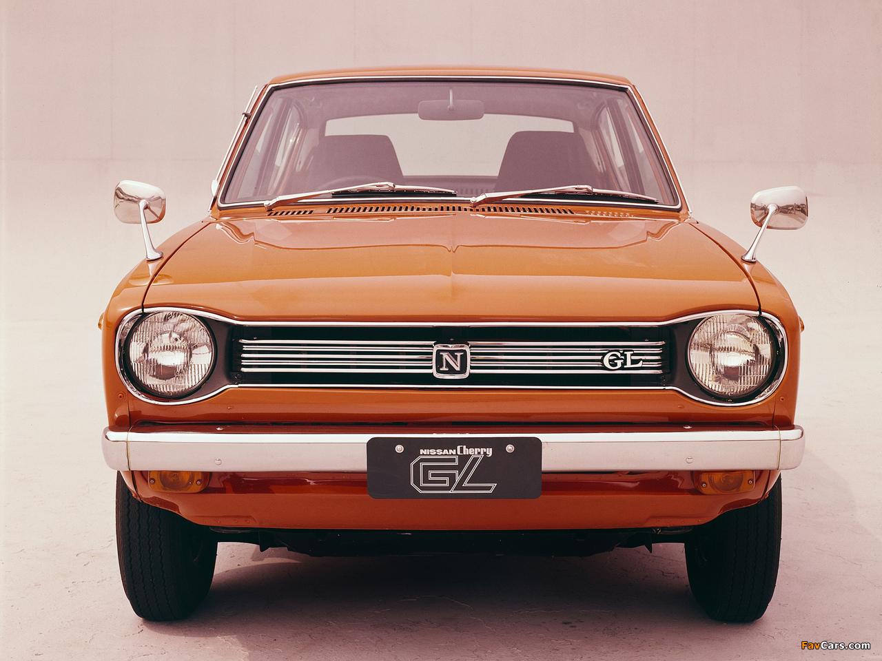 Pictures of Nissan Cherry GL 2-door Sedan (E10) 1970–74 (1280 x 960)