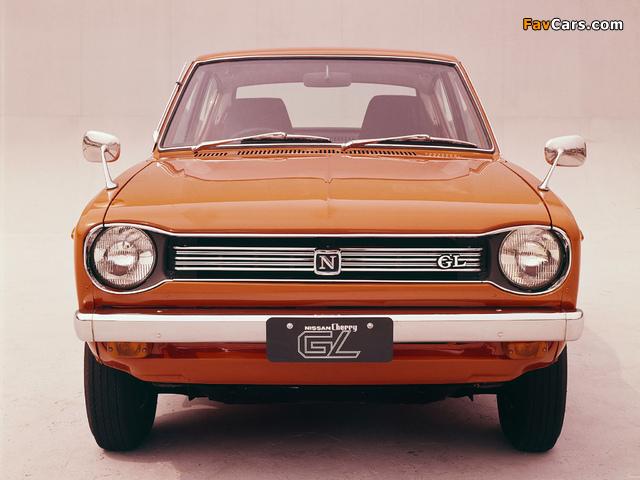 Pictures of Nissan Cherry GL 2-door Sedan (E10) 1970–74 (640 x 480)