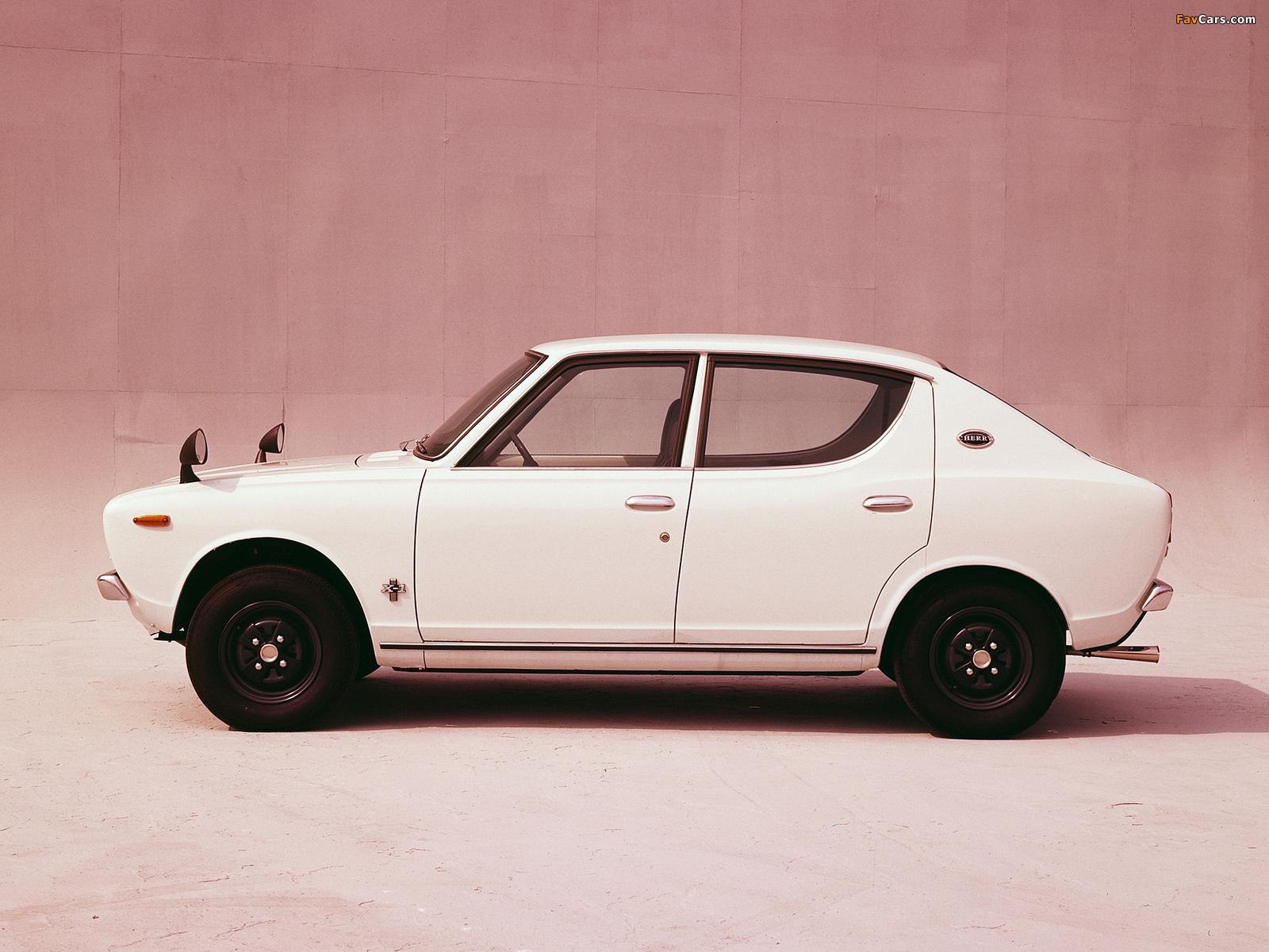 Pictures of Nissan Cherry X-1 4-door Sedan (E10) 1970–74 (1600 x 1200)