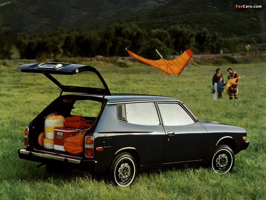 Pictures of Nissan Cherry F-II Van (F10) 1974–78 (1024 x 768)