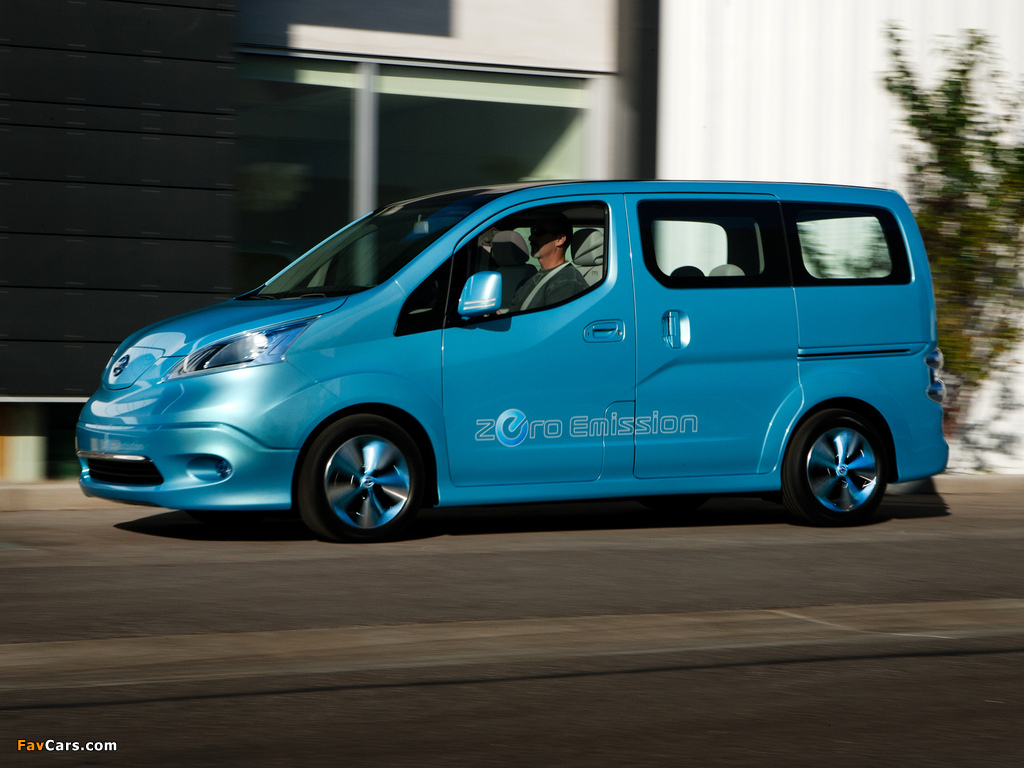 Images of Nissan e-NV200 Concept 2012 (1024 x 768)