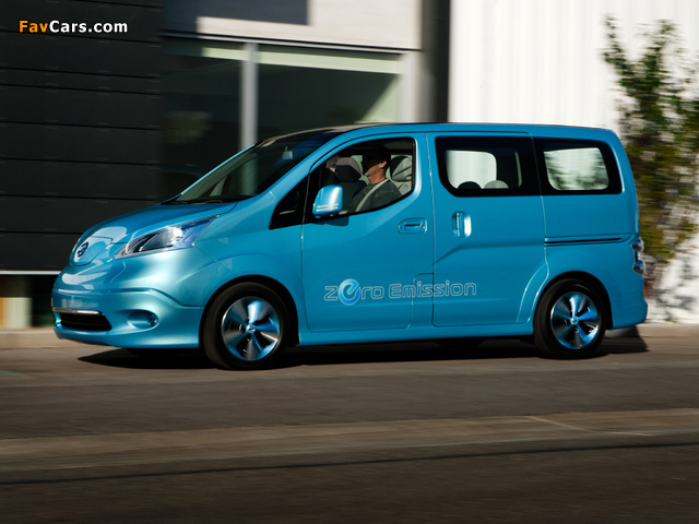Images of Nissan e-NV200 Concept 2012 (640 x 480)