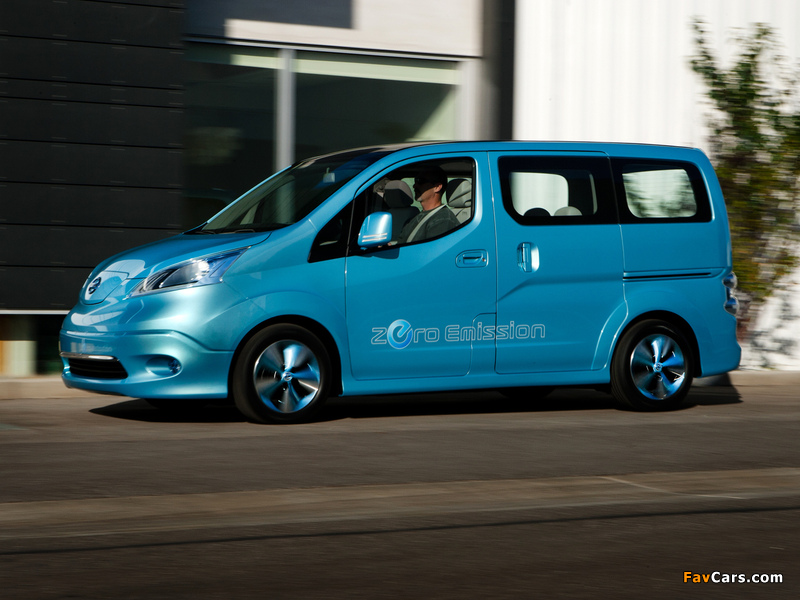 Images of Nissan e-NV200 Concept 2012 (800 x 600)