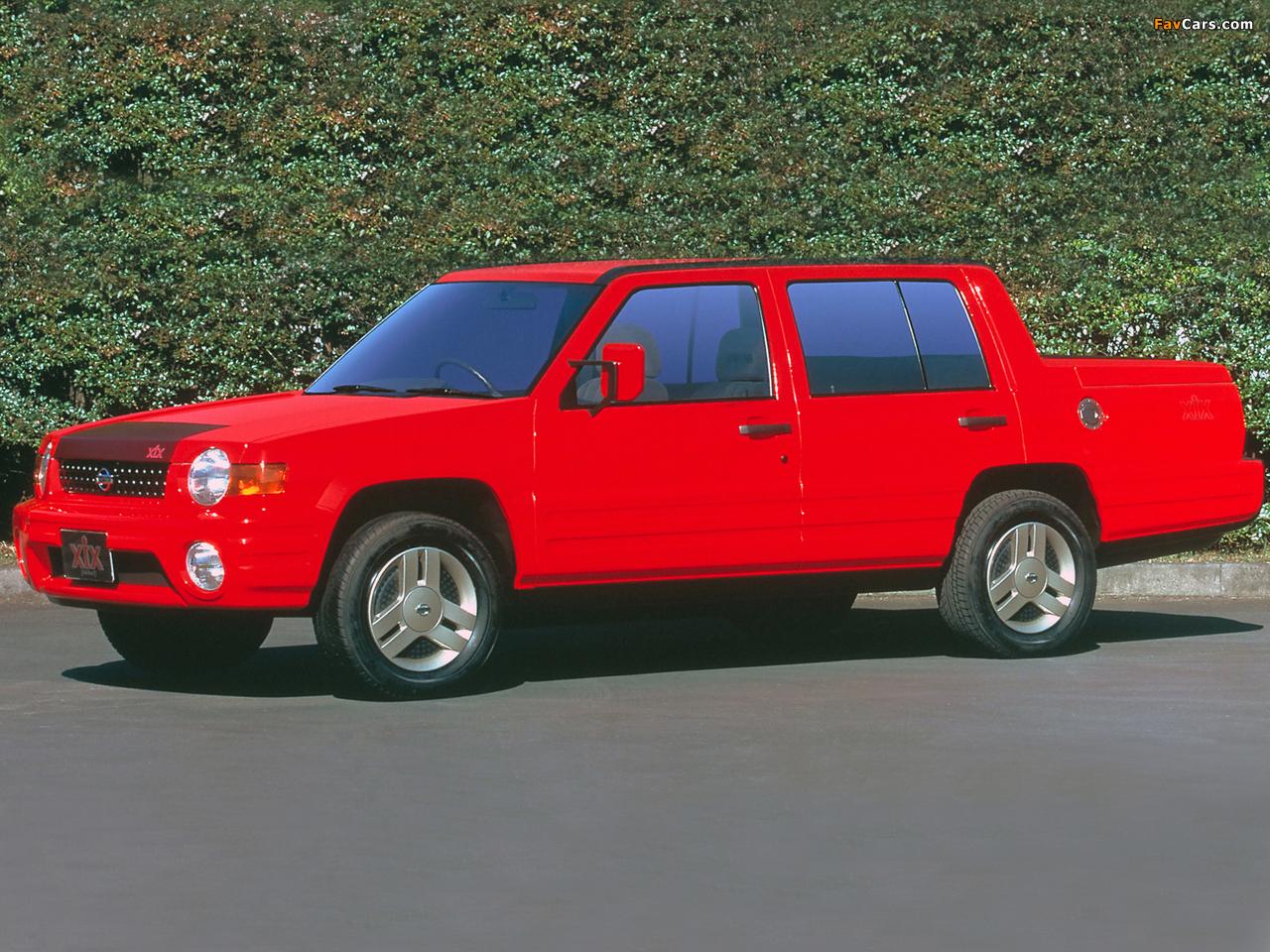Nissan XIX Concept 1995 images (1280 x 960)