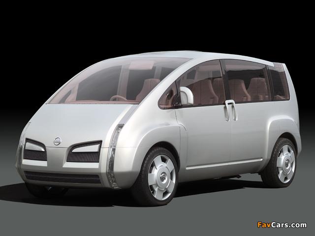Nissan Kino Concept 2001 images (640 x 480)