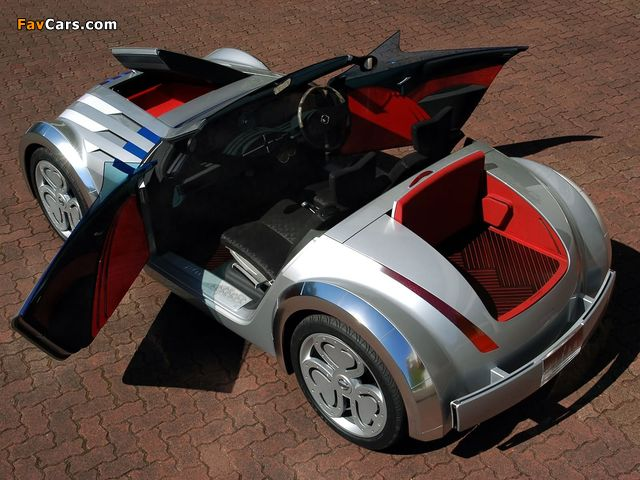 Nissan Jikoo Concept 2003 images (640 x 480)