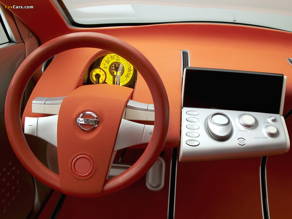 Nissan Actic Concept 2004 wallpapers (1024 x 768)
