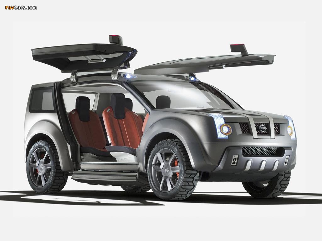 Nissan Zaroot Concept 2005 pictures (1024 x 768)