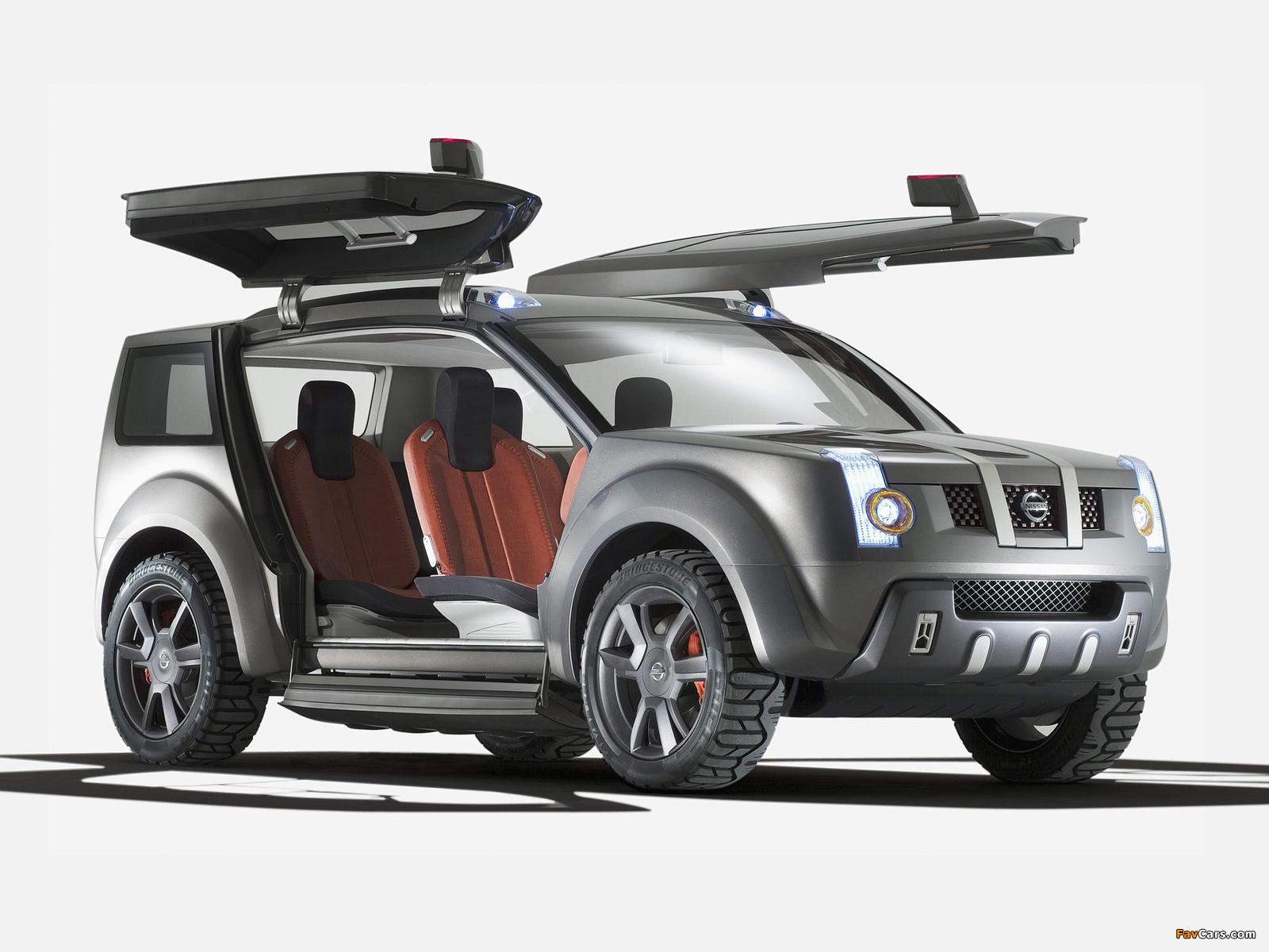 Nissan Zaroot Concept 2005 pictures (1600 x 1200)