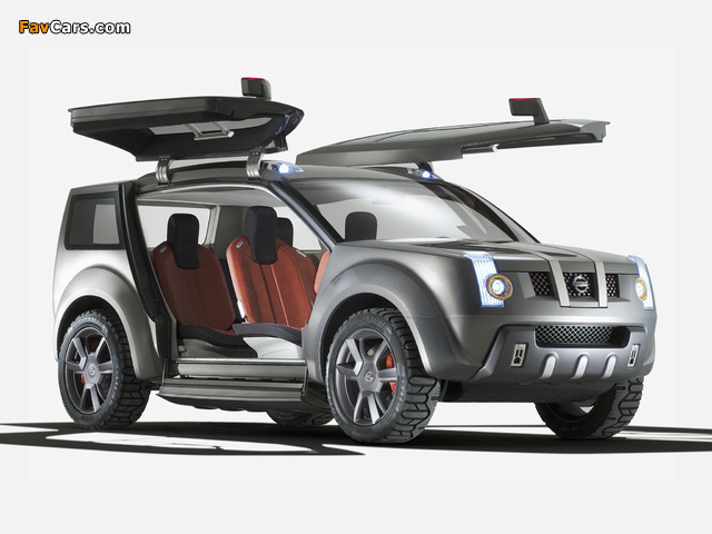 Nissan Zaroot Concept 2005 pictures (640 x 480)