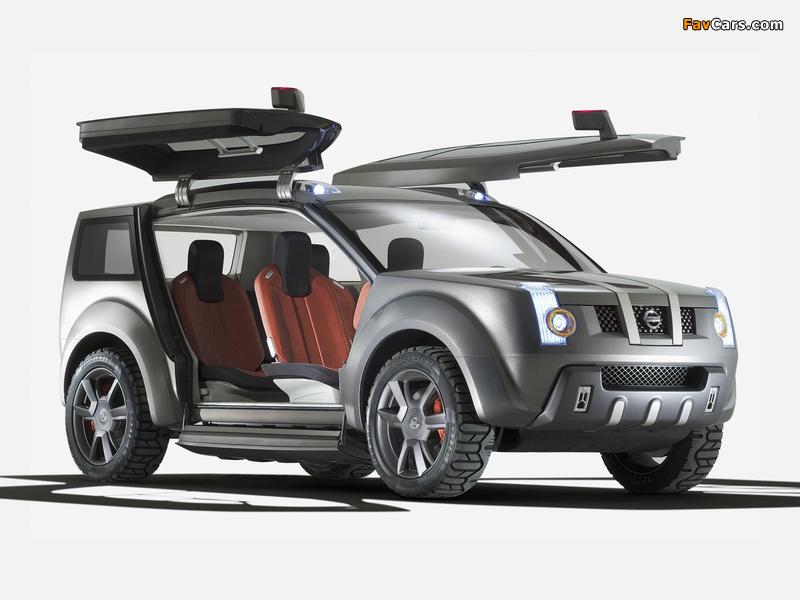 Nissan Zaroot Concept 2005 pictures (800 x 600)