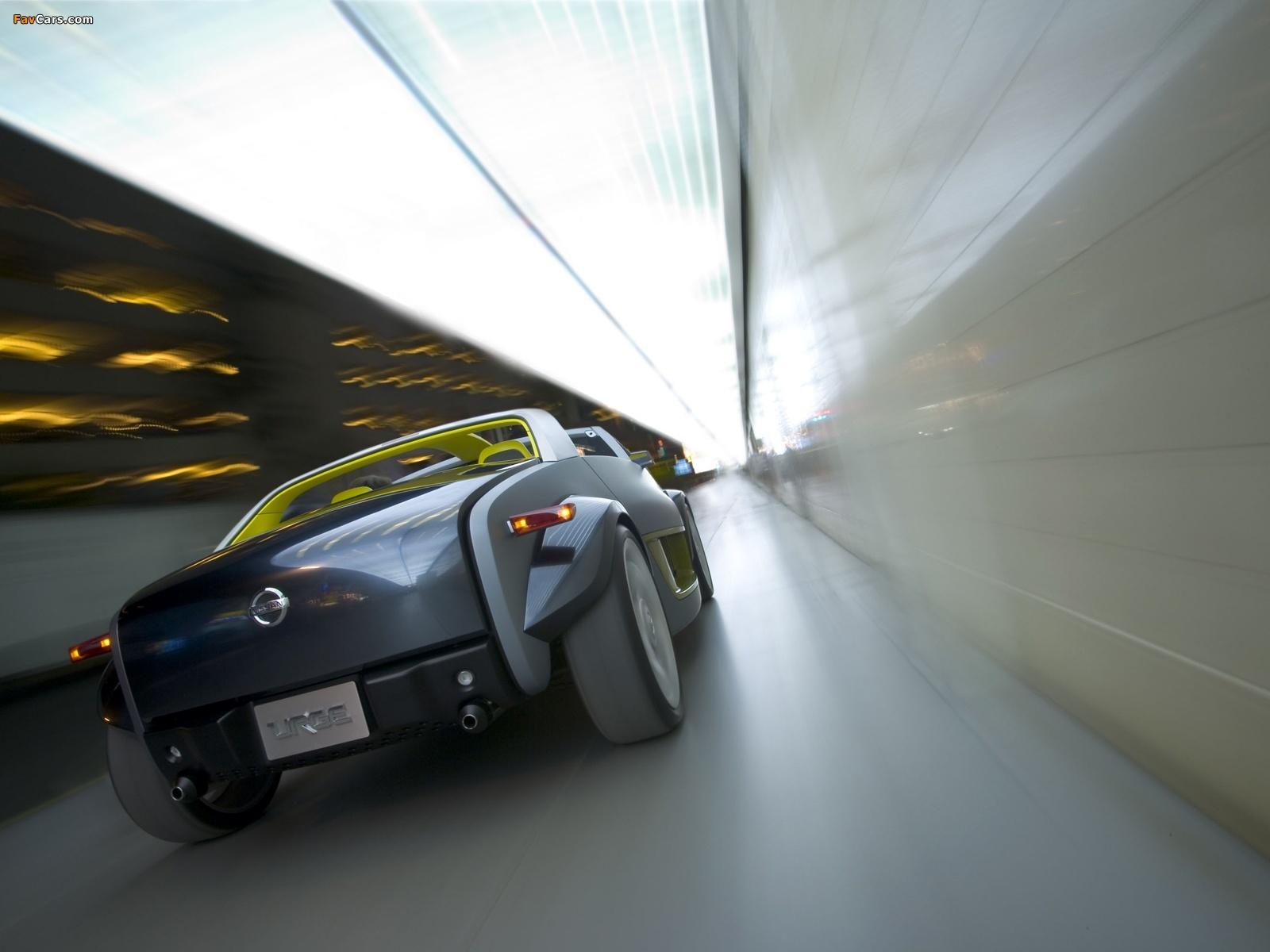 Nissan Urge Concept 2006 photos (1600 x 1200)