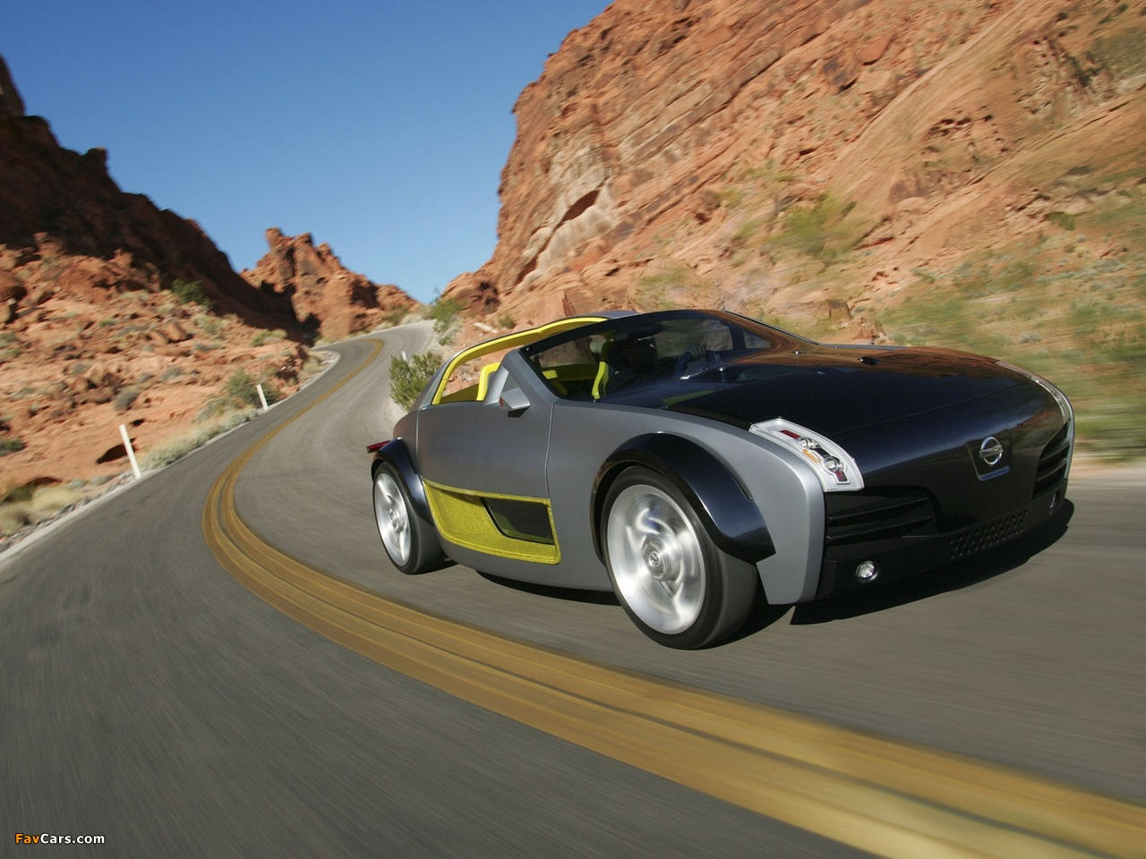 Nissan Urge Concept 2006 wallpapers (1280 x 960)
