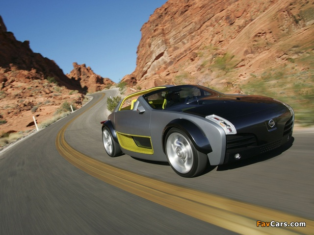 Nissan Urge Concept 2006 wallpapers (640 x 480)