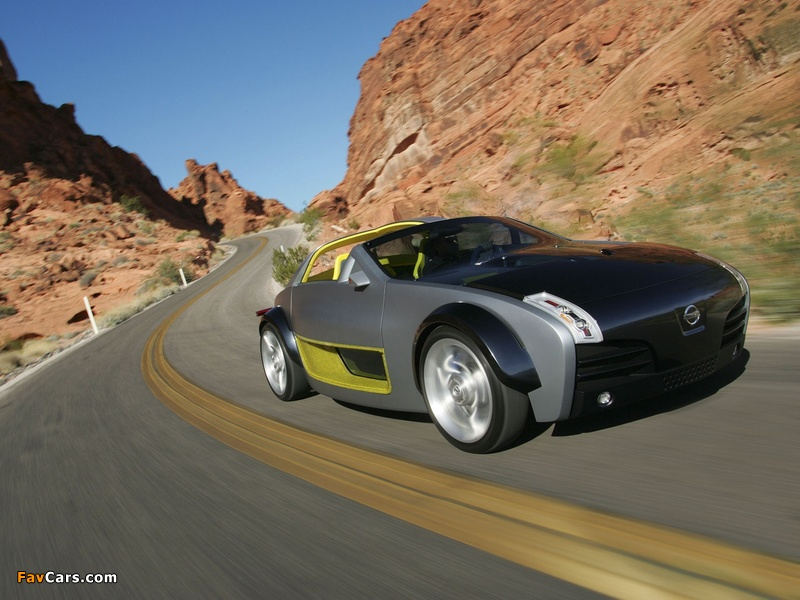 Nissan Urge Concept 2006 wallpapers (800 x 600)