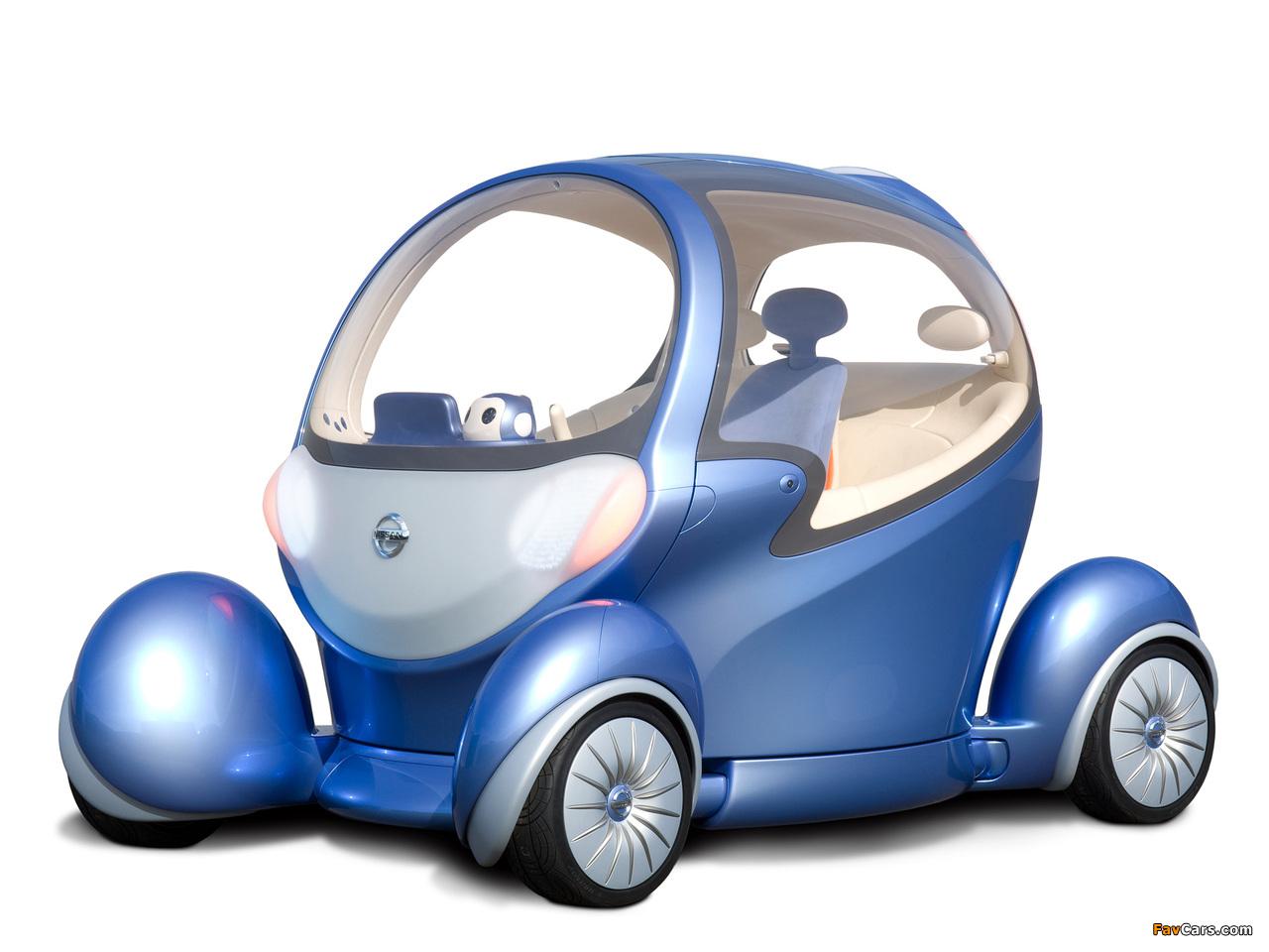 Nissan Pivo 2 Concept 2007 images (1280 x 960)