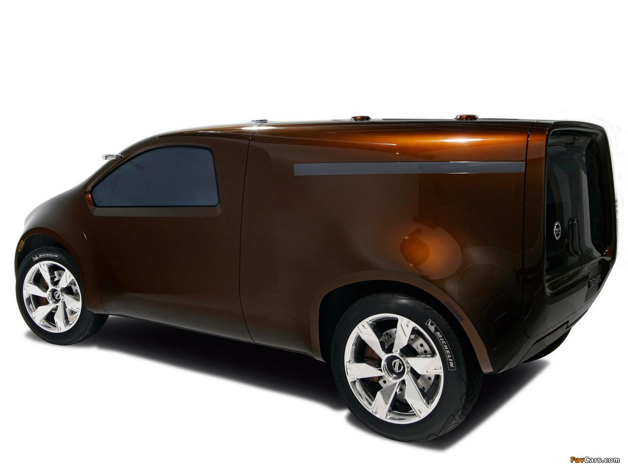 Nissan Bevel Concept 2007 photos (1280 x 960)