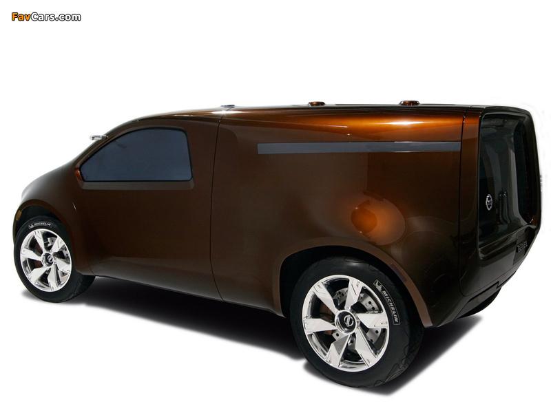 Nissan Bevel Concept 2007 photos (800 x 600)