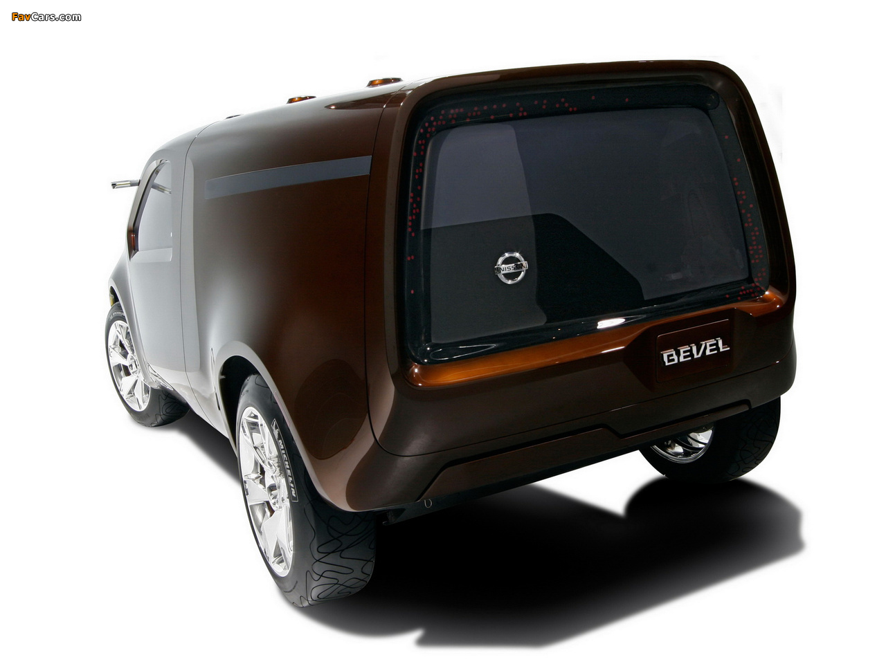 Nissan Bevel Concept 2007 wallpapers (1280 x 960)