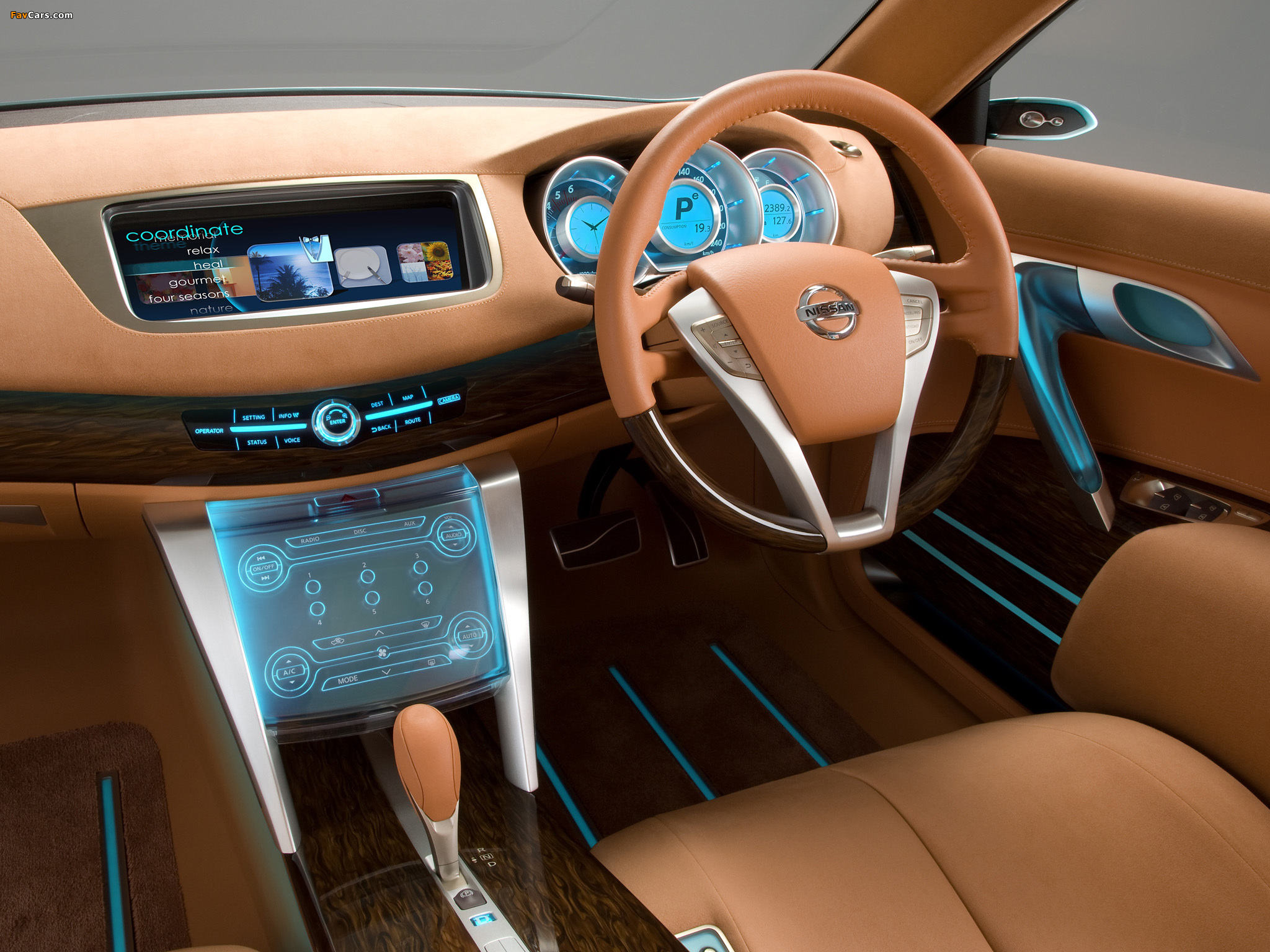 Nissan Intima Concept 2007 wallpapers (2048 x 1536)