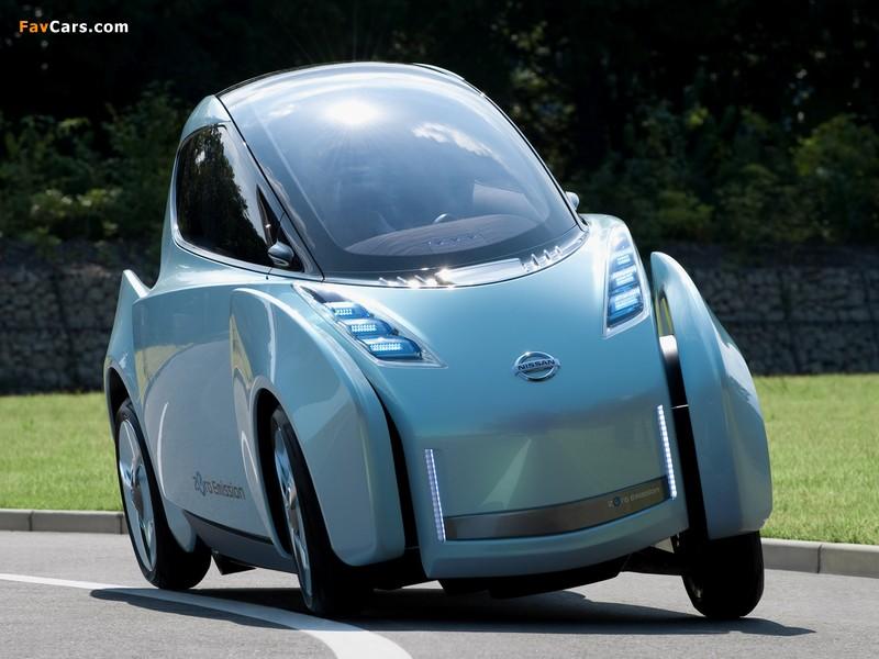 Nissan Land Glider Concept 2009 images (800 x 600)