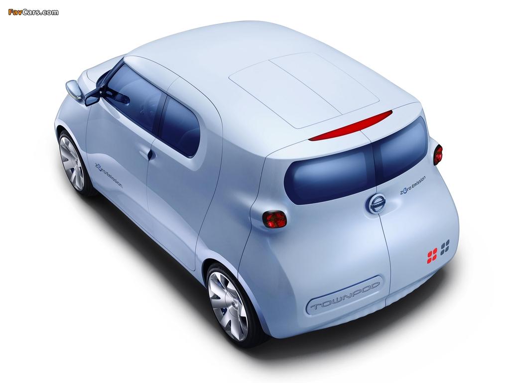 Nissan Townpod Concept 2010 photos (1024 x 768)