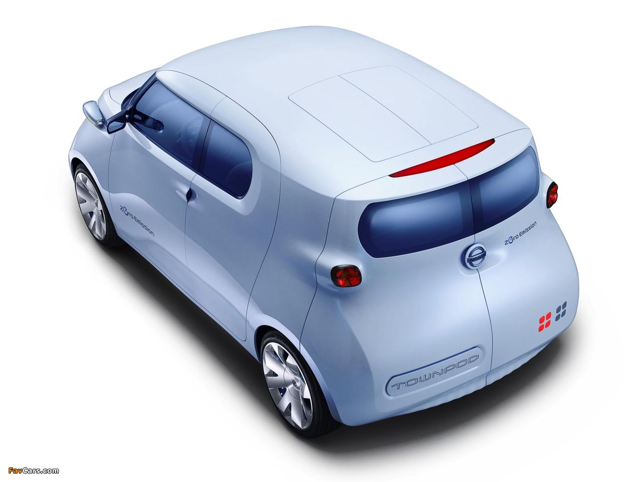 Nissan Townpod Concept 2010 photos (1280 x 960)
