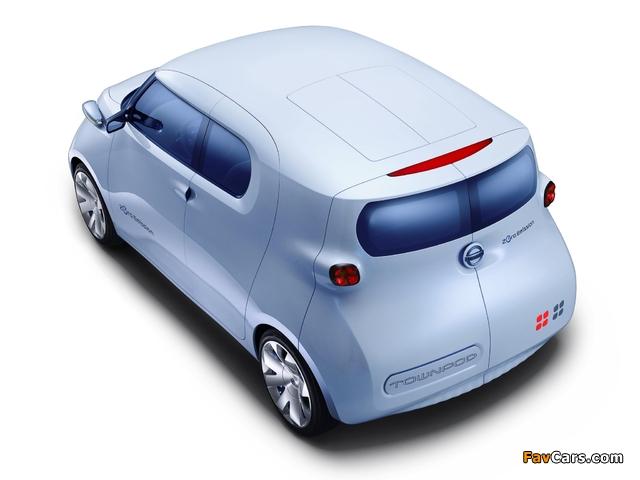 Nissan Townpod Concept 2010 photos (640 x 480)