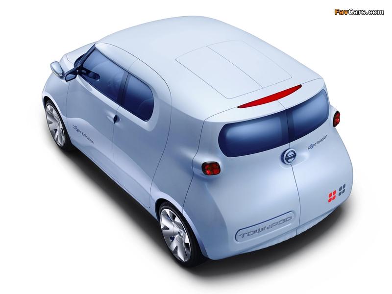 Nissan Townpod Concept 2010 photos (800 x 600)