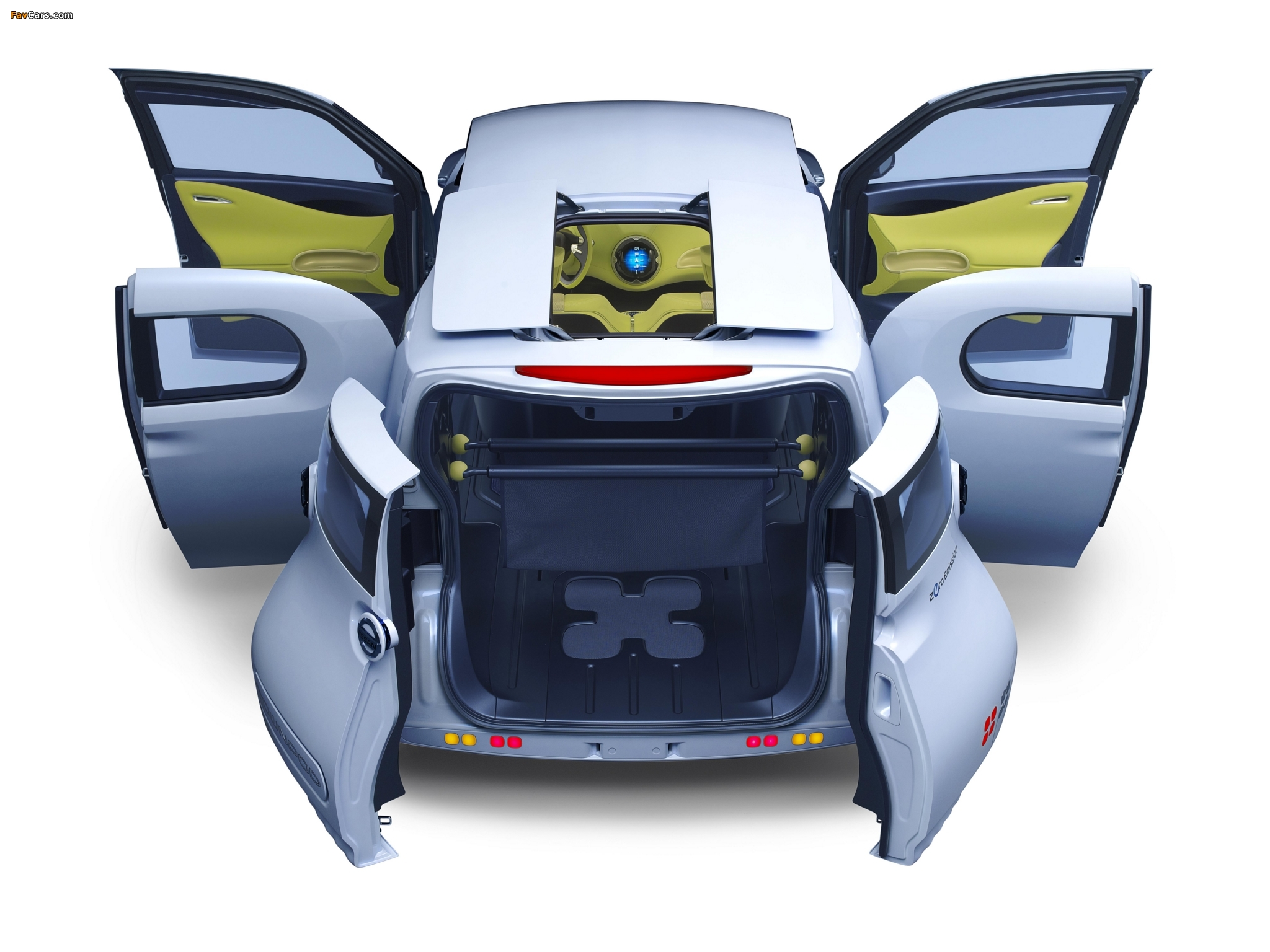 Nissan Townpod Concept 2010 photos (2048 x 1536)